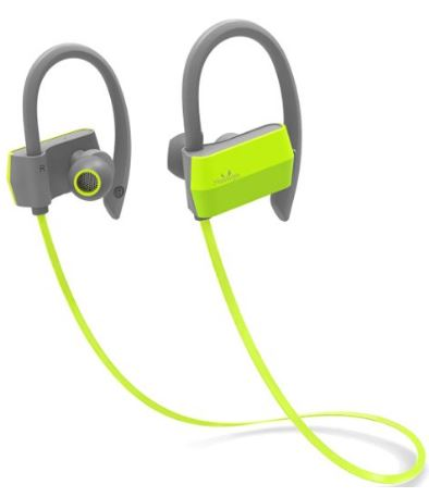 mailiya wireless sport bluetooth headphones sweatproof stable fit in ear earbuds. Black Bedroom Furniture Sets. Home Design Ideas