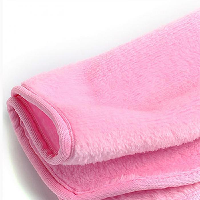 TripleClicks.com Makeup Remover Towel Reusable Makeup Cleaning Towel Soft Microfiber Makeup ...