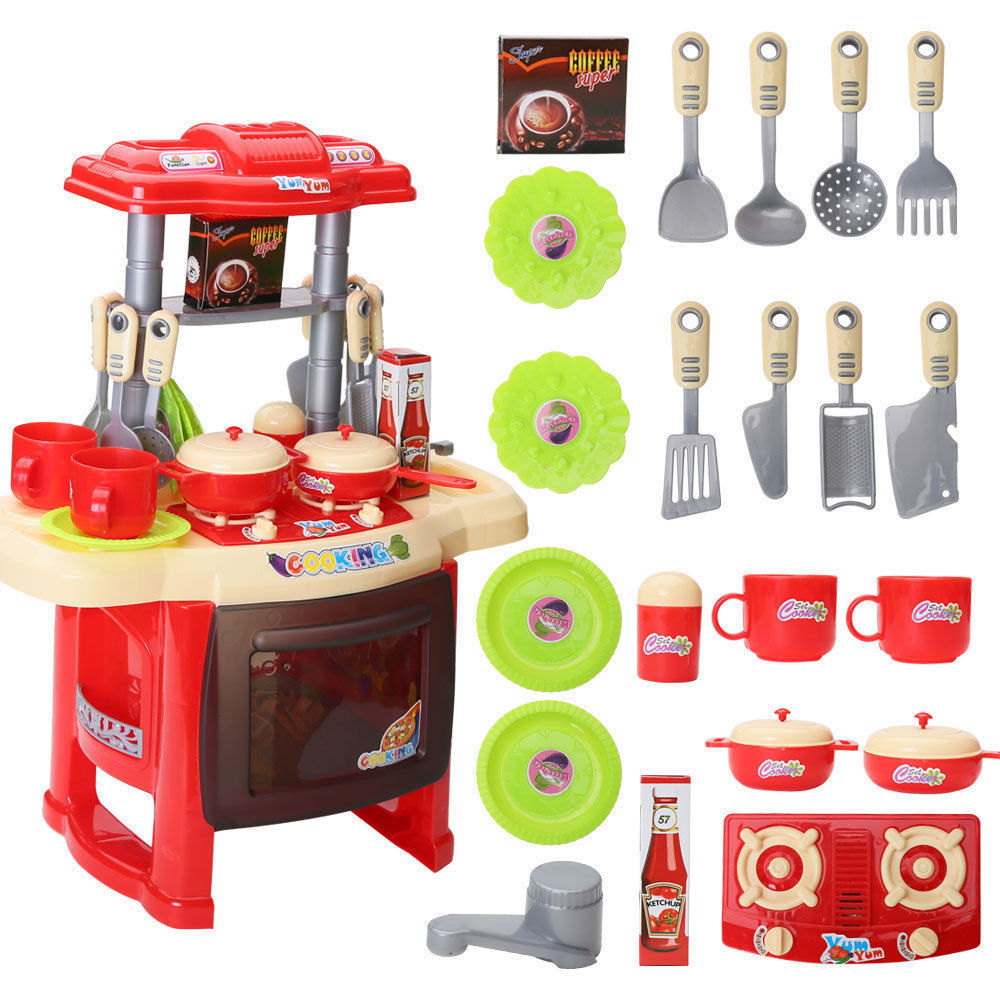 New portable electronic children kids for Electronic kitchen set