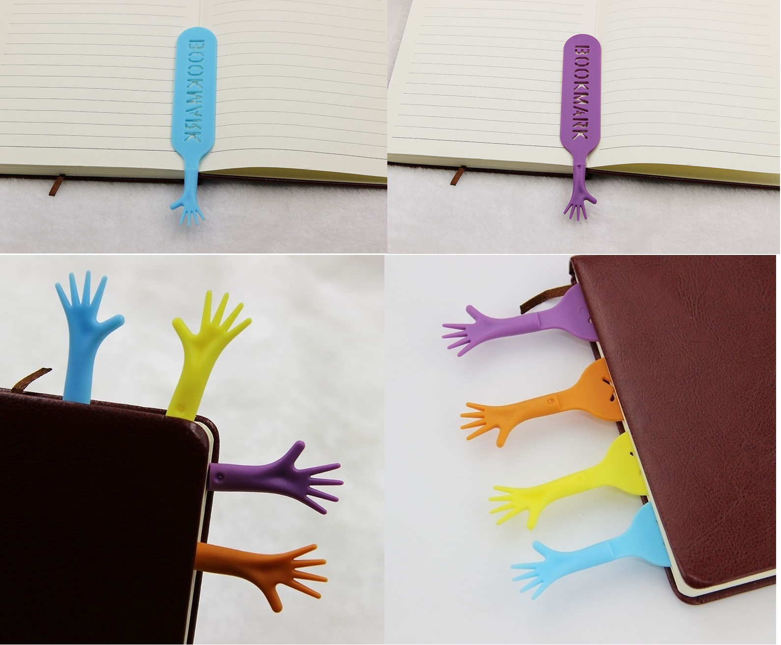 4PCS Cute Bookmark butterfly Style Teacher's Gift Book Marker Stationery GN