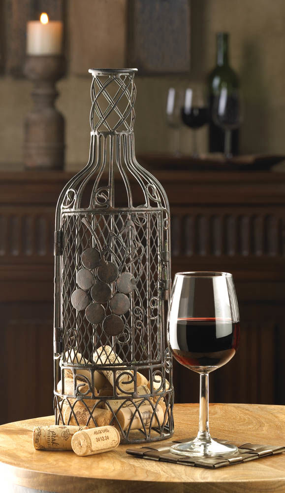 Cork saver wine d cor for Decorating with wine corks